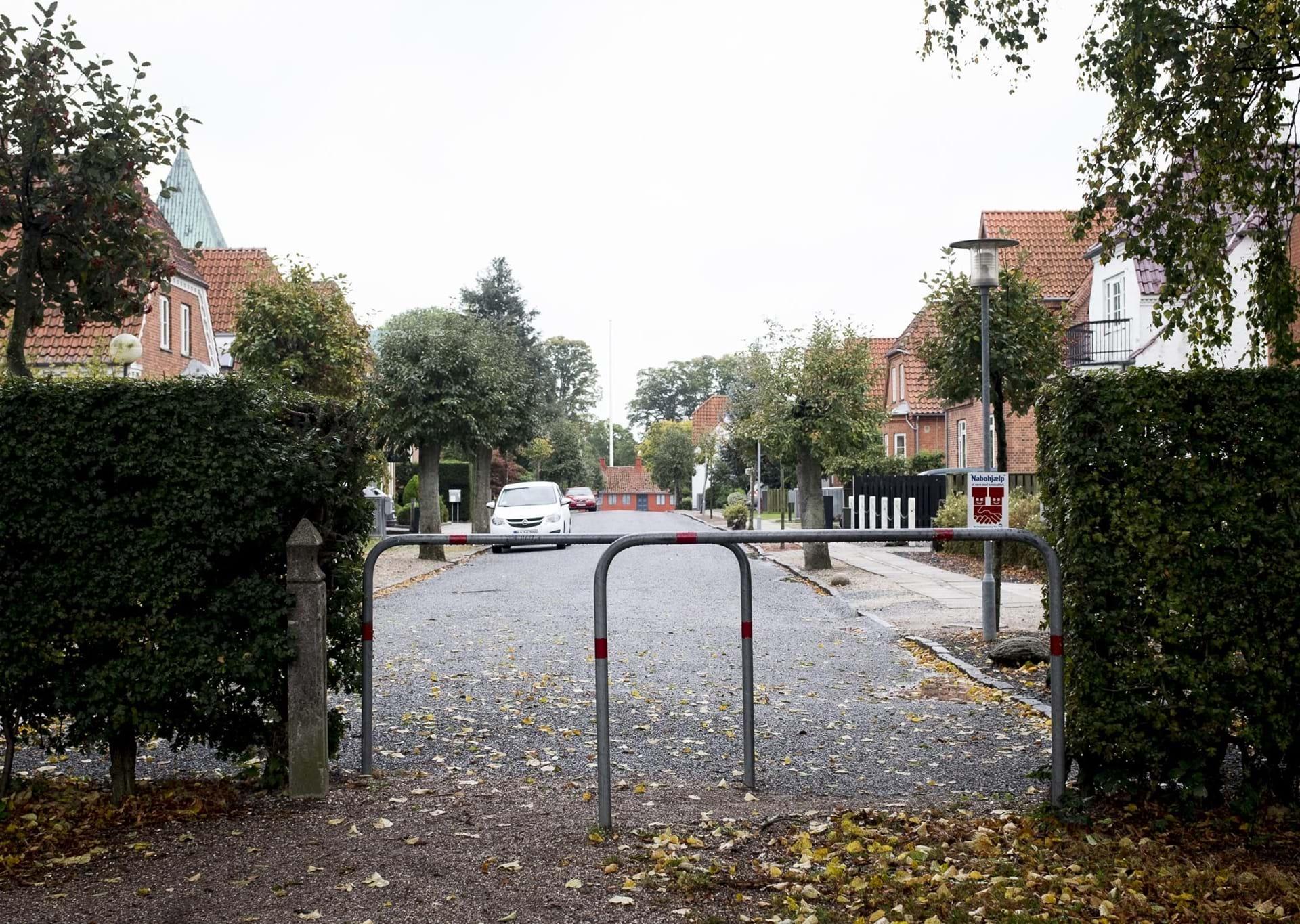 Hyggelig villavej med flotte murermestervillaer i centrum af Ringsted
