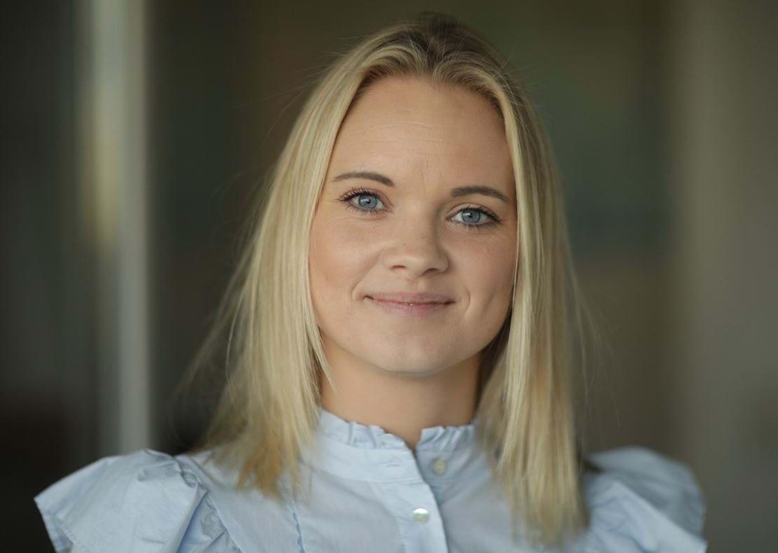 På billedet ser du en af vores områdeambassadører og influencer for Ringsted, Charlotte Klein