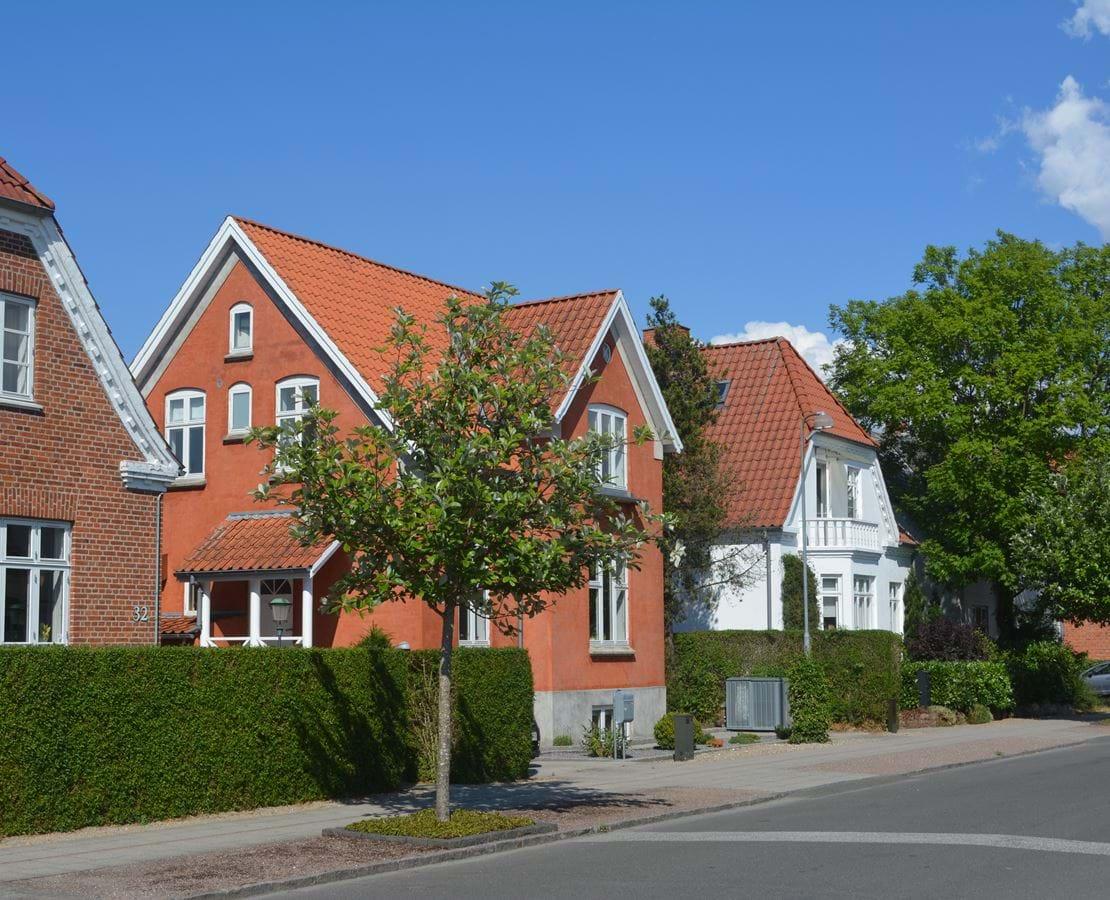 Hyggelig villavej tæt på Ringsted bymidte